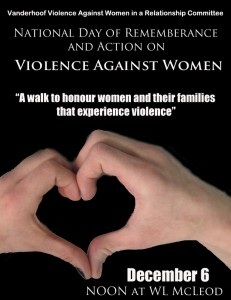 violence against women poster