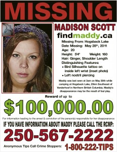 Maddy Missing Mar14