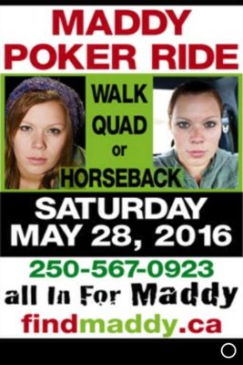 maddy poker ride simple poster